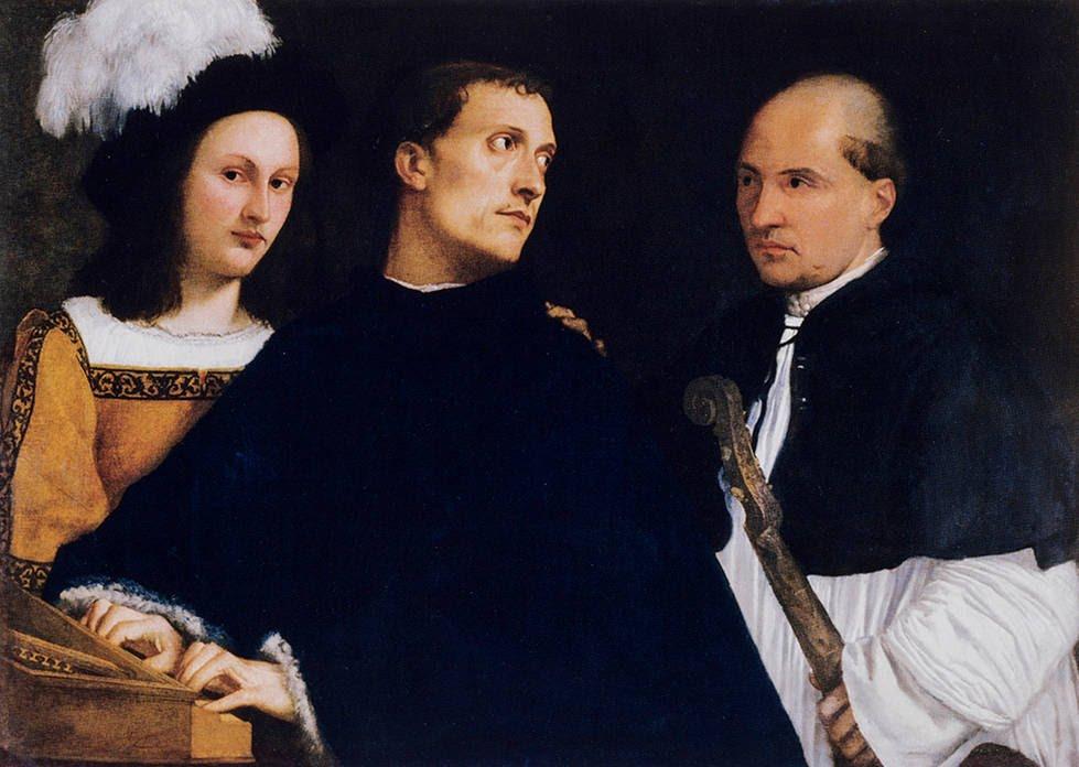 Le Concert interrompu, Titien, 1511
