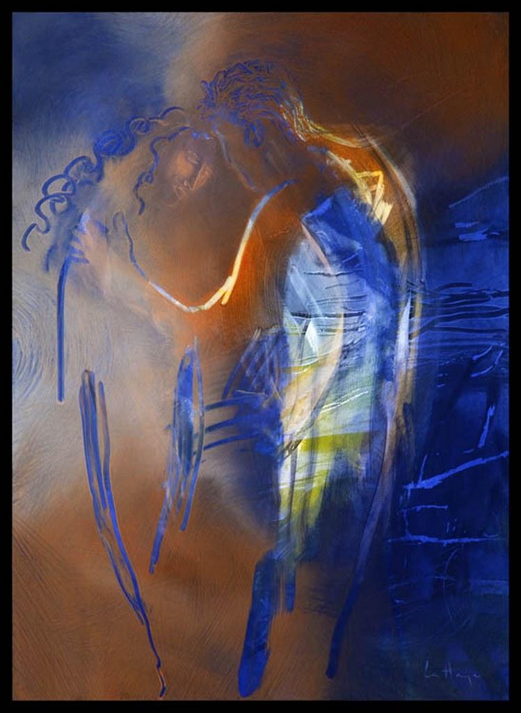 Fomme 79, acrylique sur massonite, 120 x 82 cm, 2008
