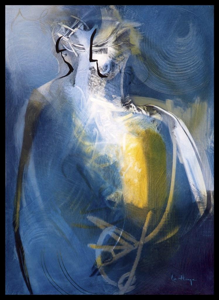 Fomme 65, acrylique sur massonite, 120 x 82 cm, 2009