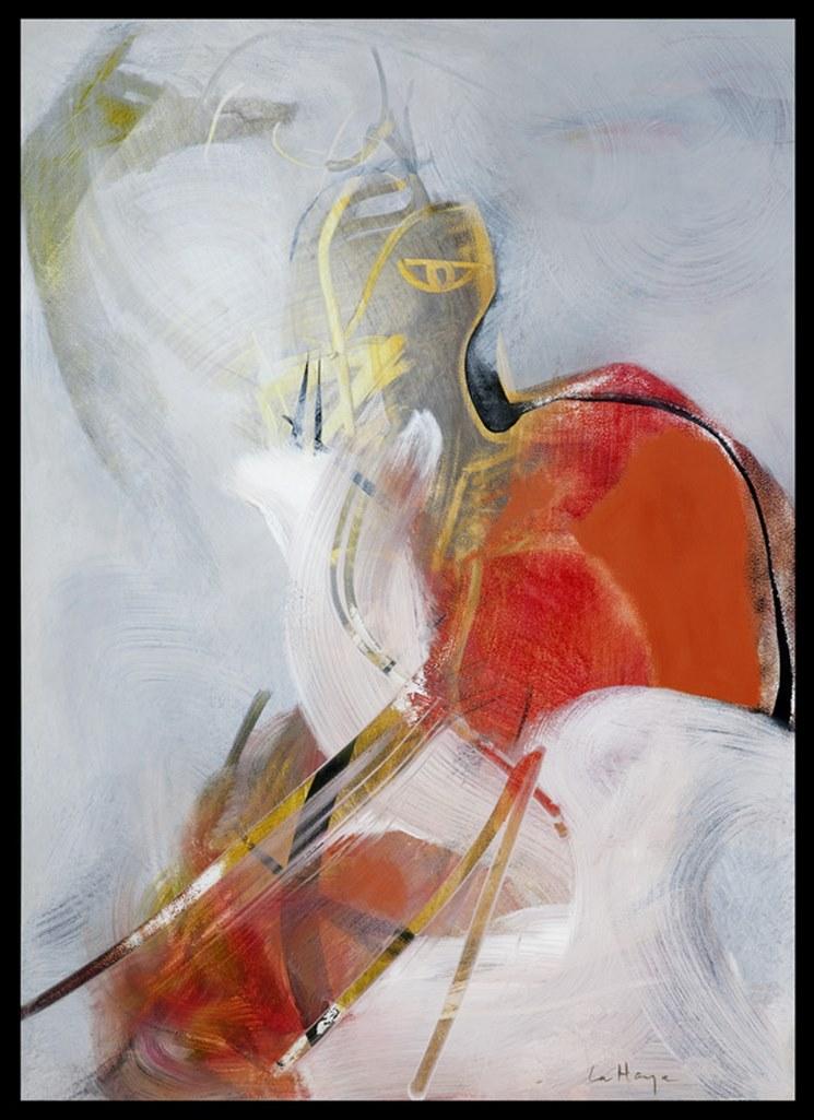 Fomme 64, acrylique sur massonite, 120 x 82 cm, 2009